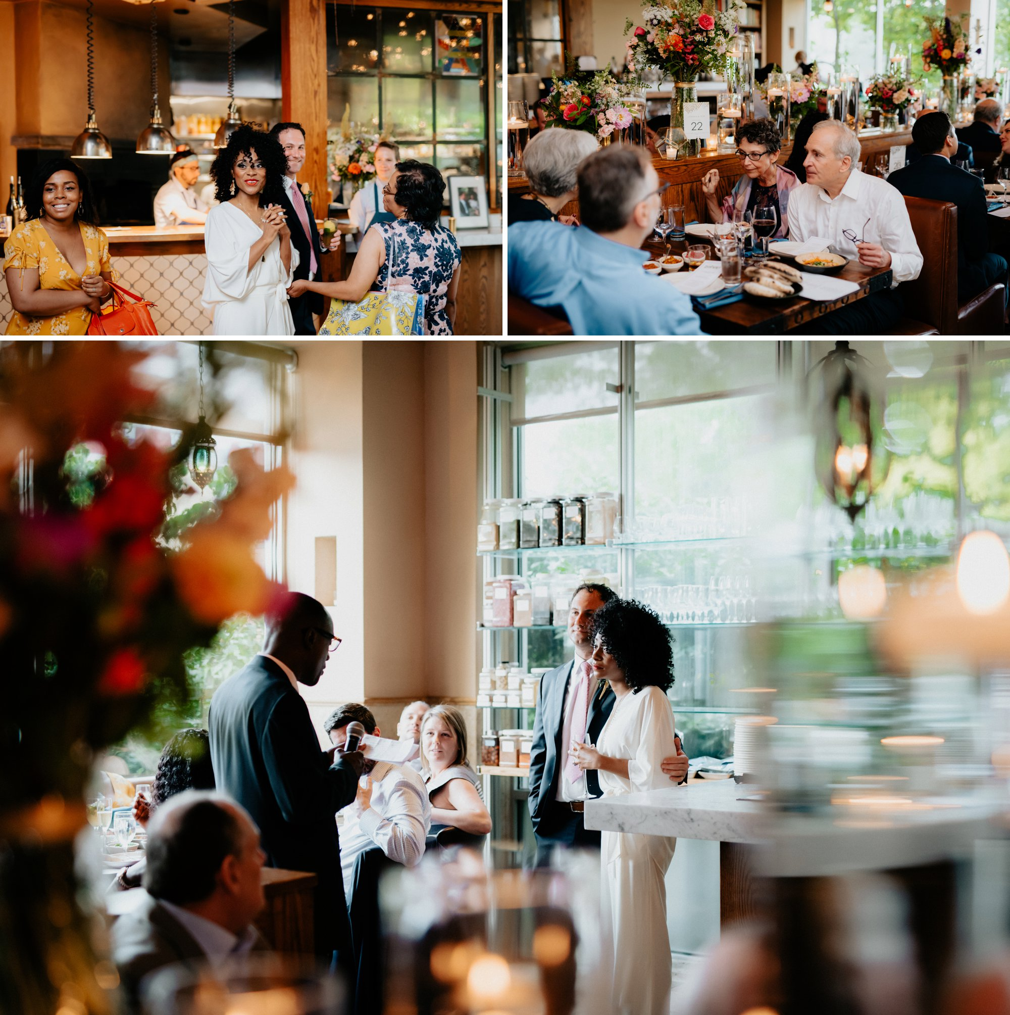 Philadelphia Wedding Elopement Colorful Portraits Zahav Reception  Dinner