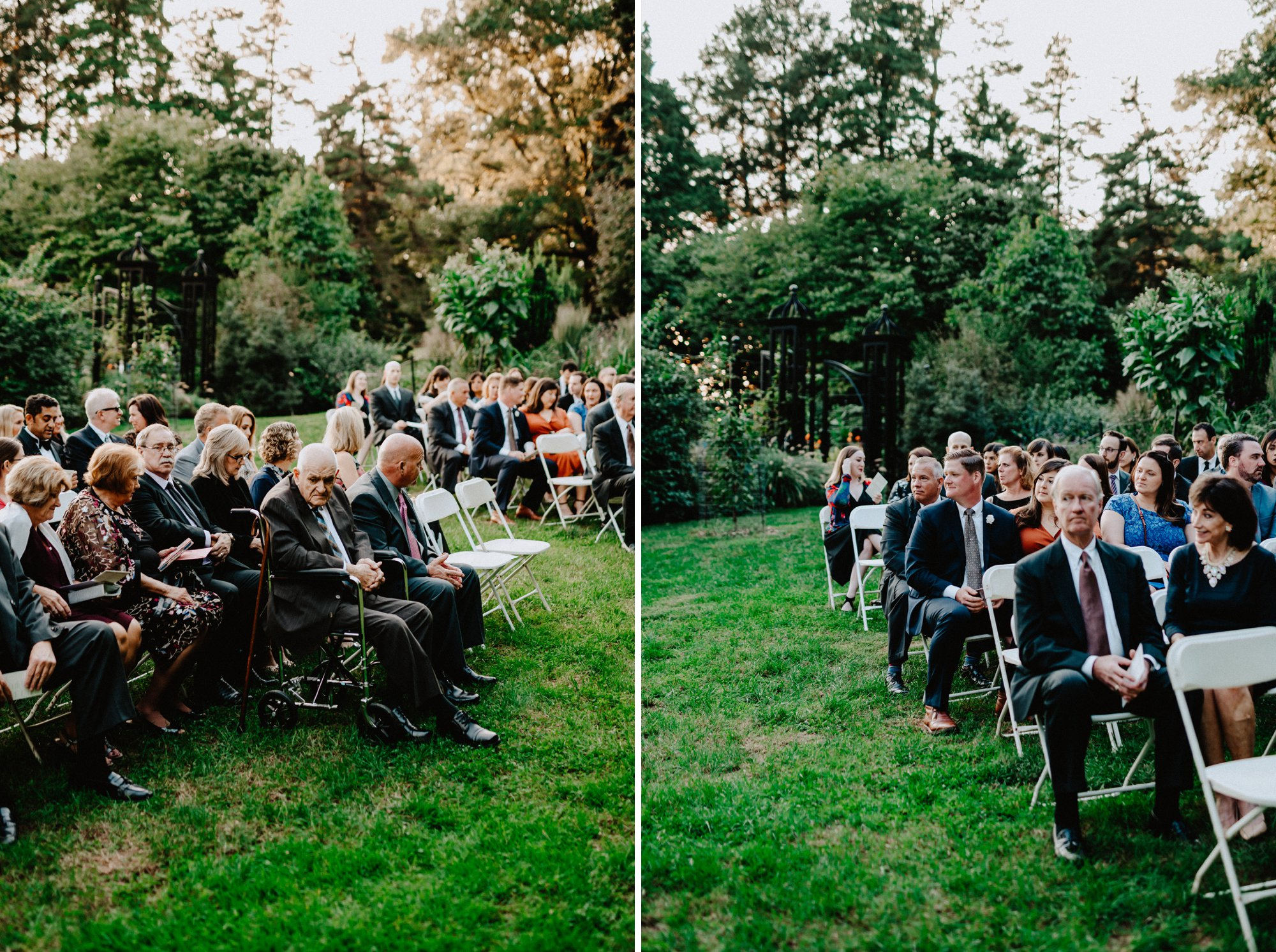 Viva Love Wedding Photography Morris Arboretum Outdoor Ceremony Bright Florals Neon Bridal Jacket