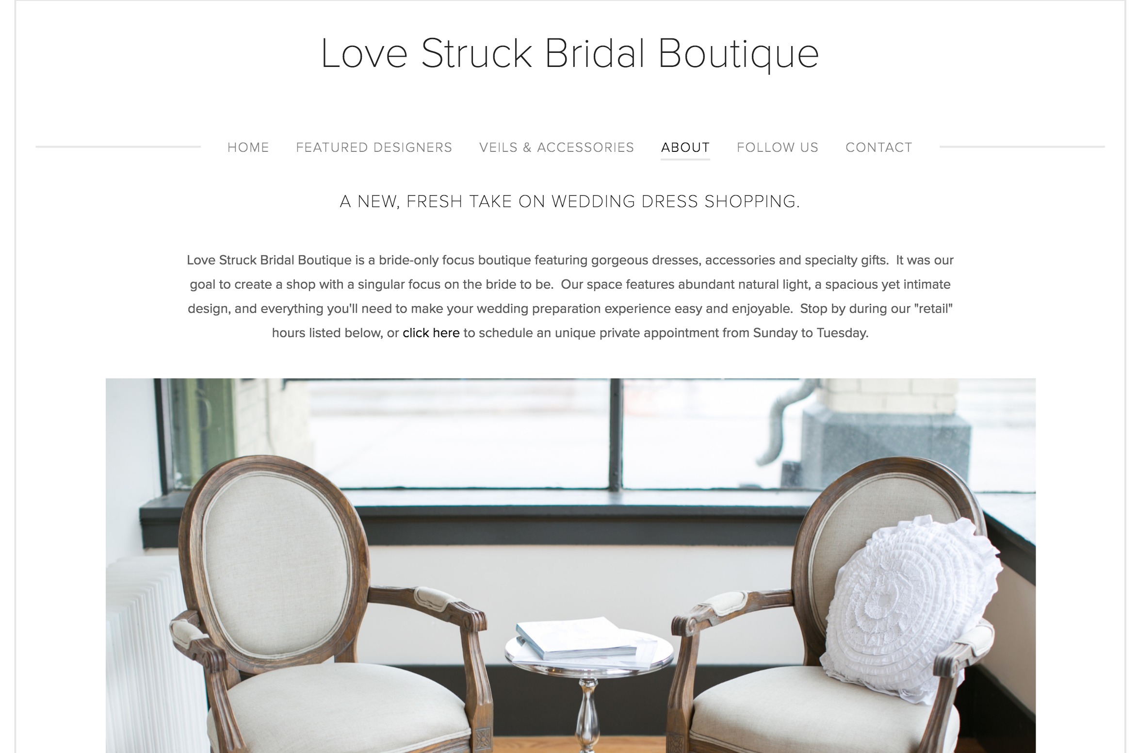 Love Struck Bridal Boutique