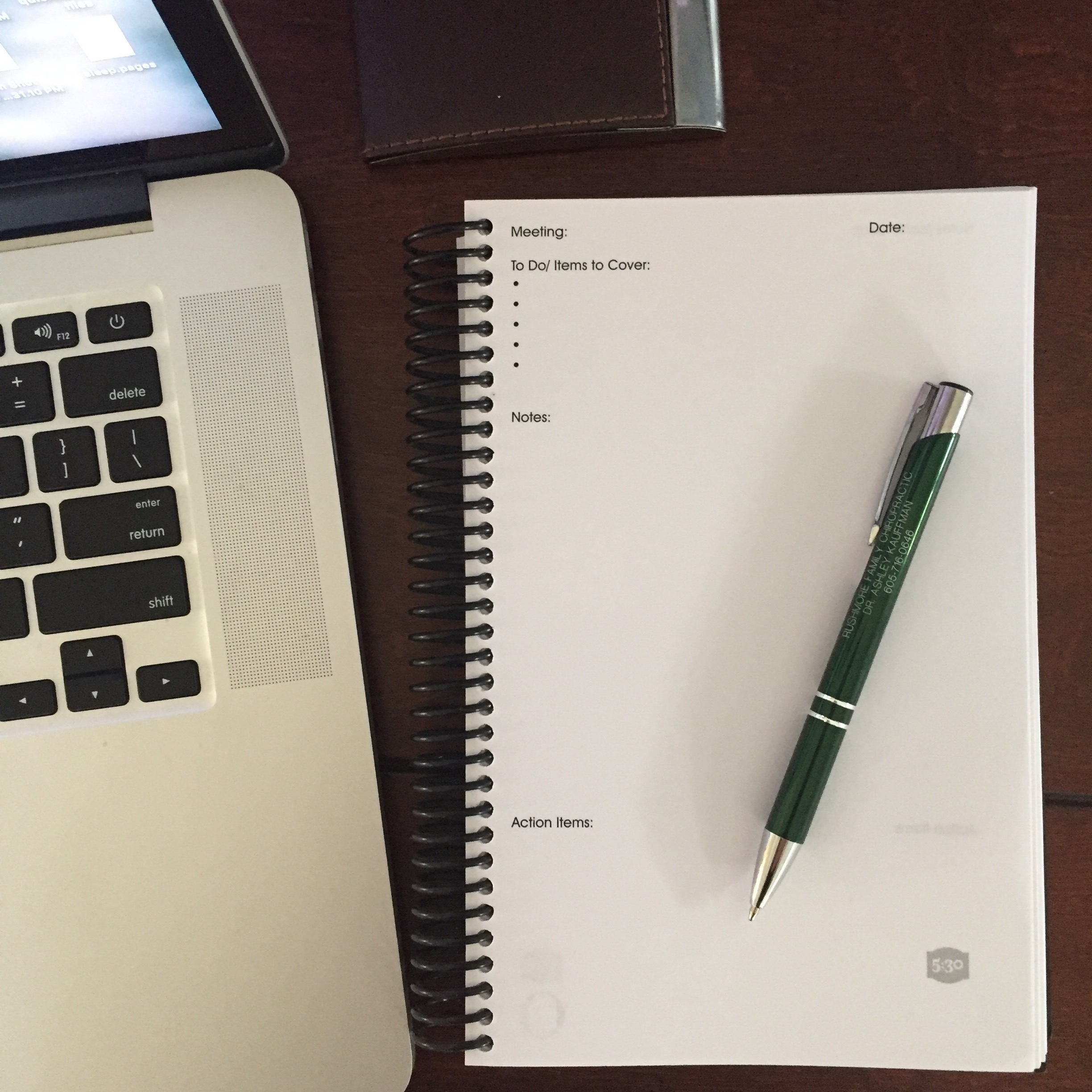 FIVE:thirty Notebook