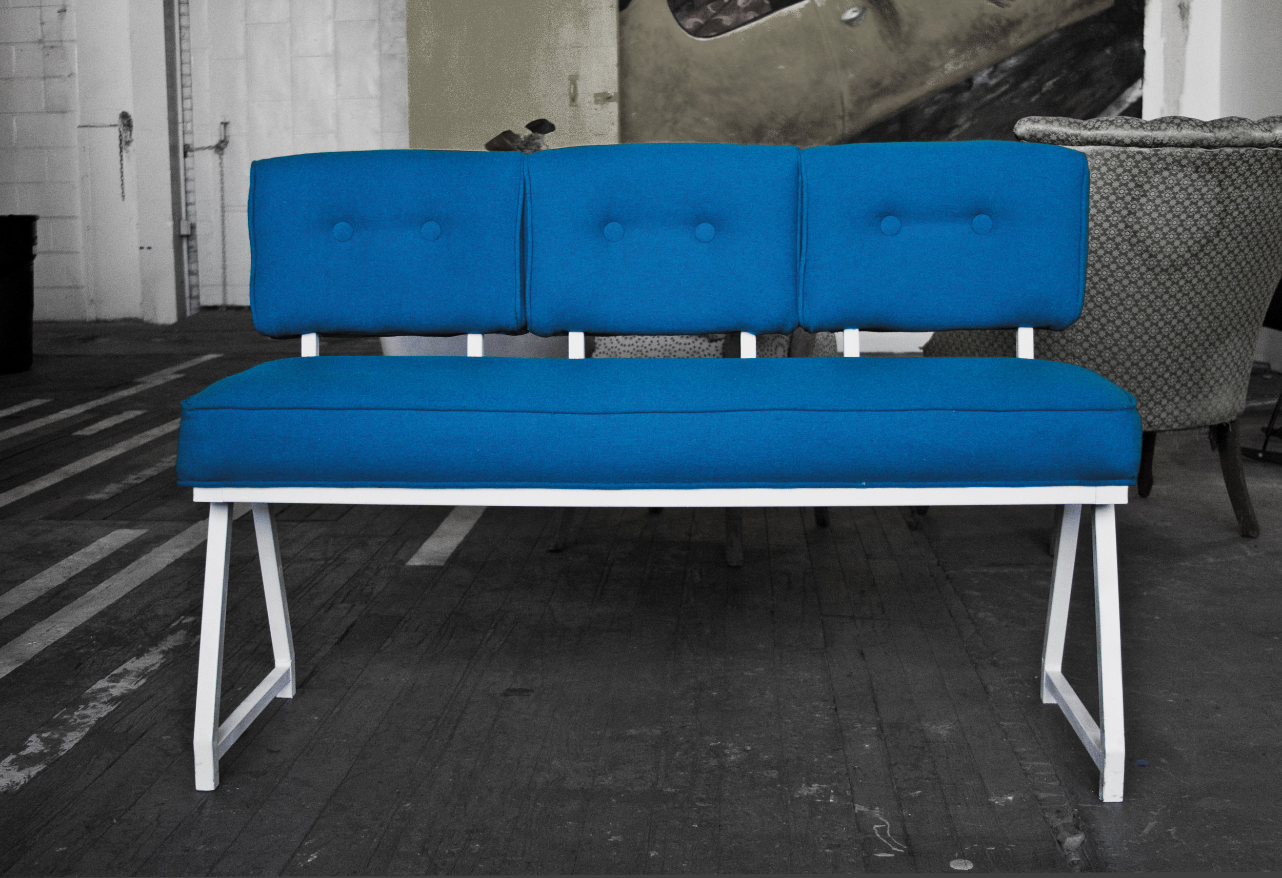 Recovered Interior Mod Bench