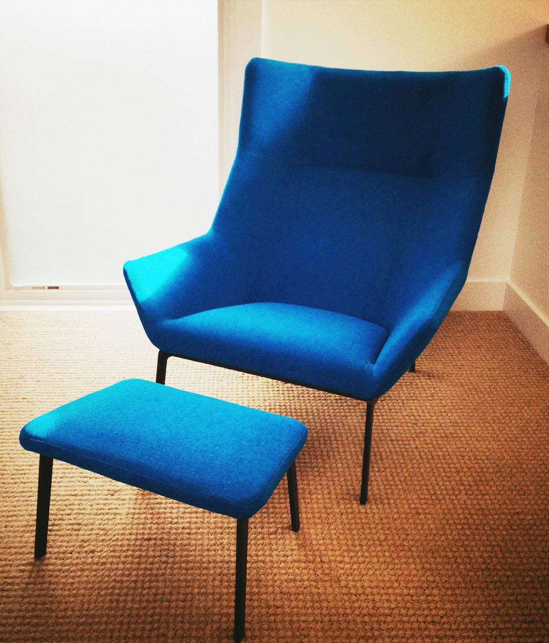Recovered Interior Bensen Chair
