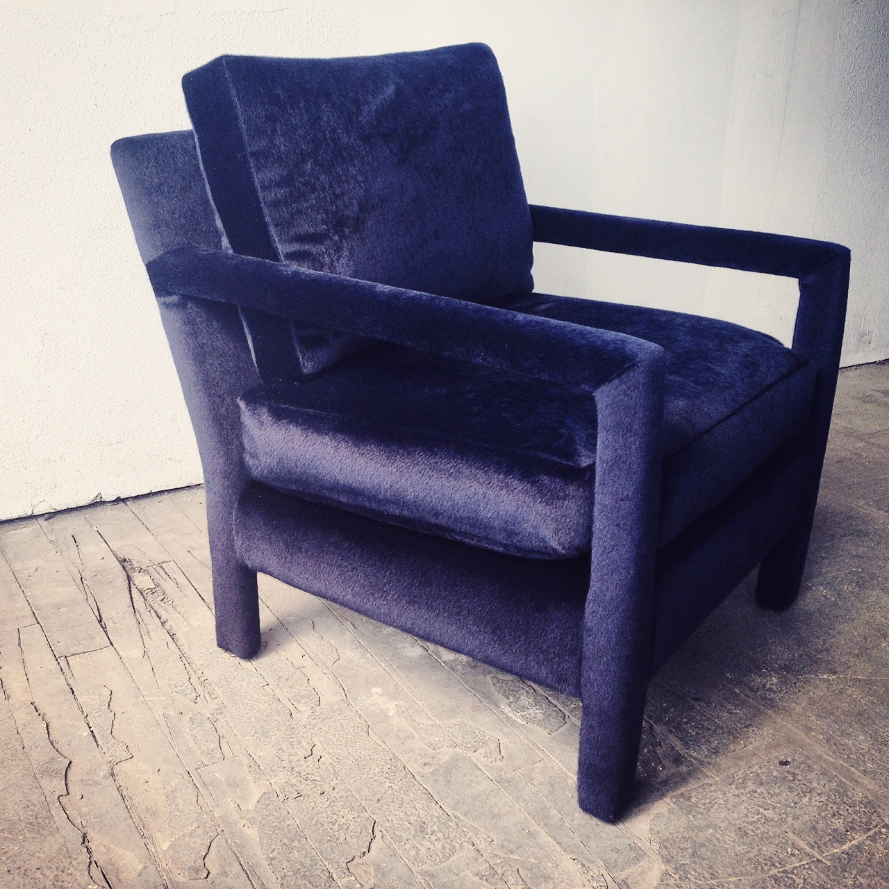 Recovered Interior Horsehair Parsons Chair