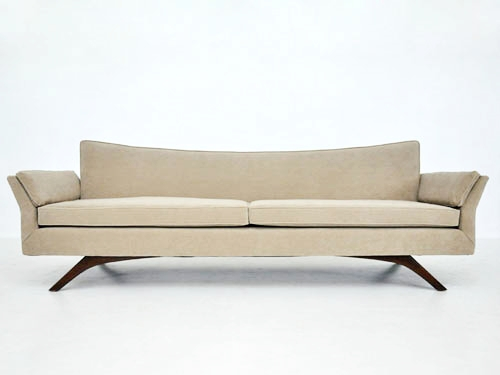 Recovered Interior Pearsall Sculptural Sofa