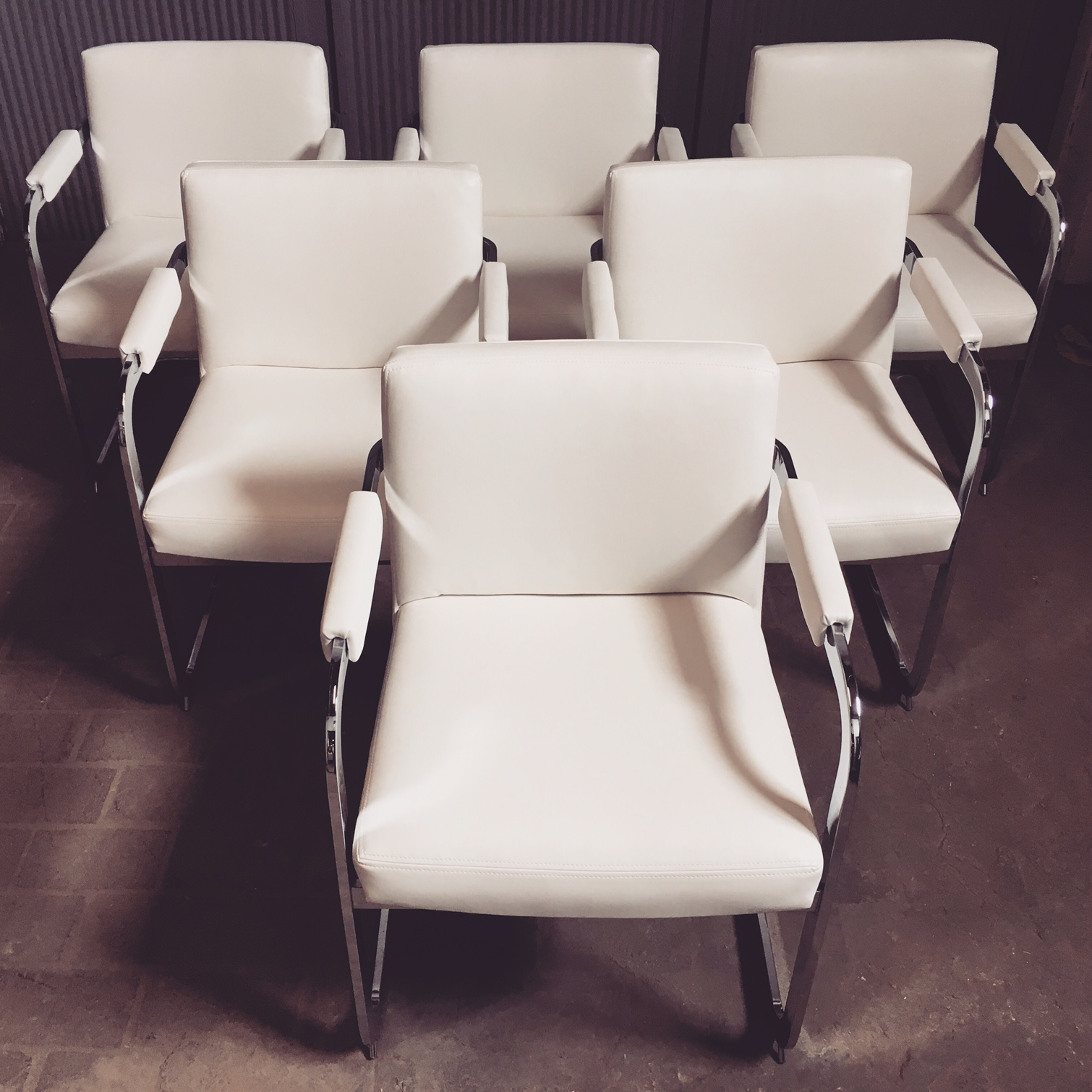 Recovered Interior Milo Baughman Dining Chairs