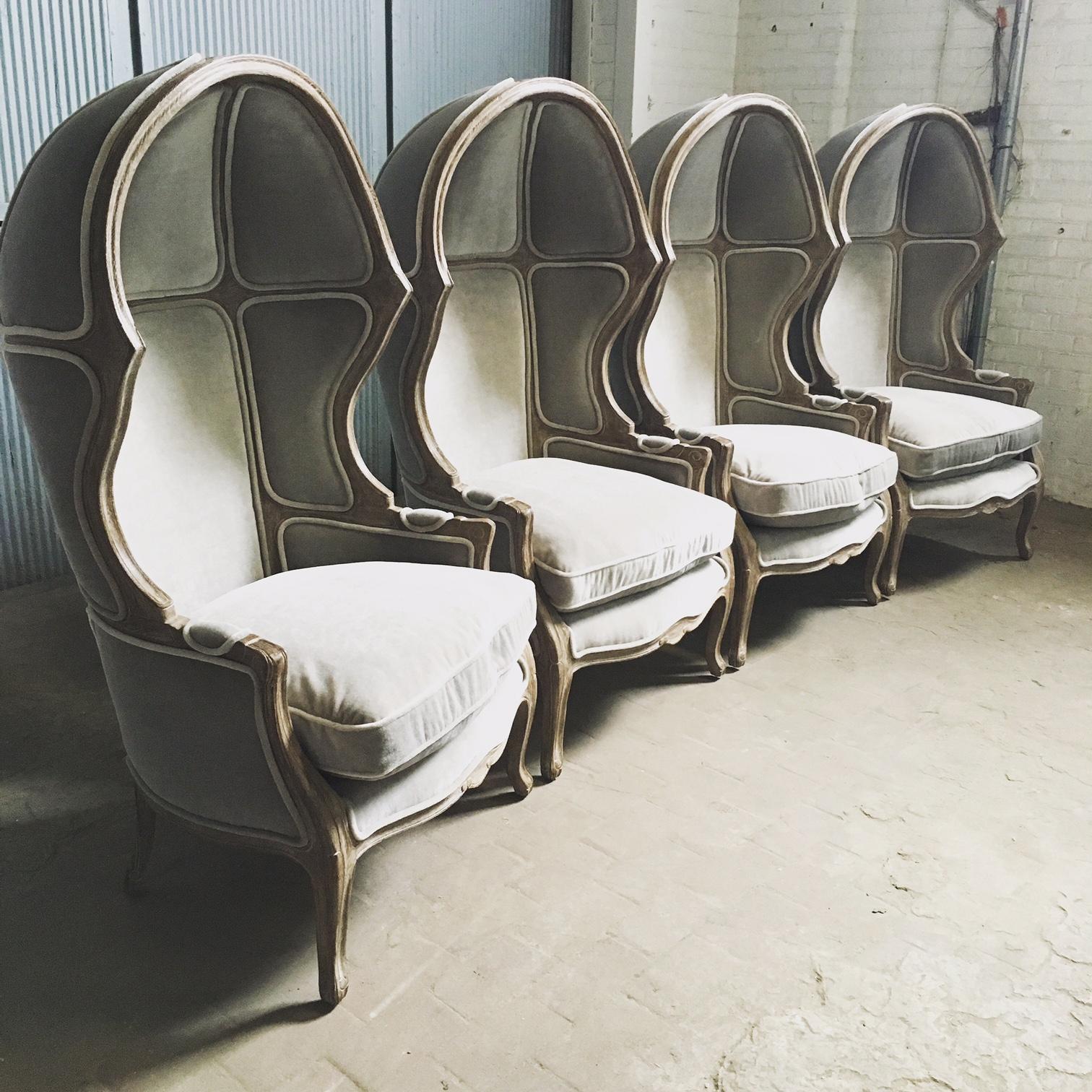 Recovered Interior Restoration Hardare Versallies Chair
