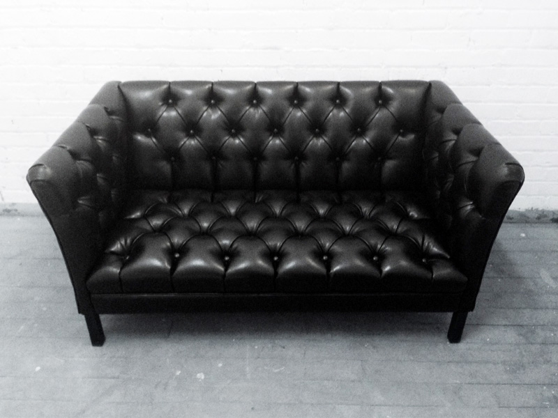 Recovered Interior Tufted Loveseat