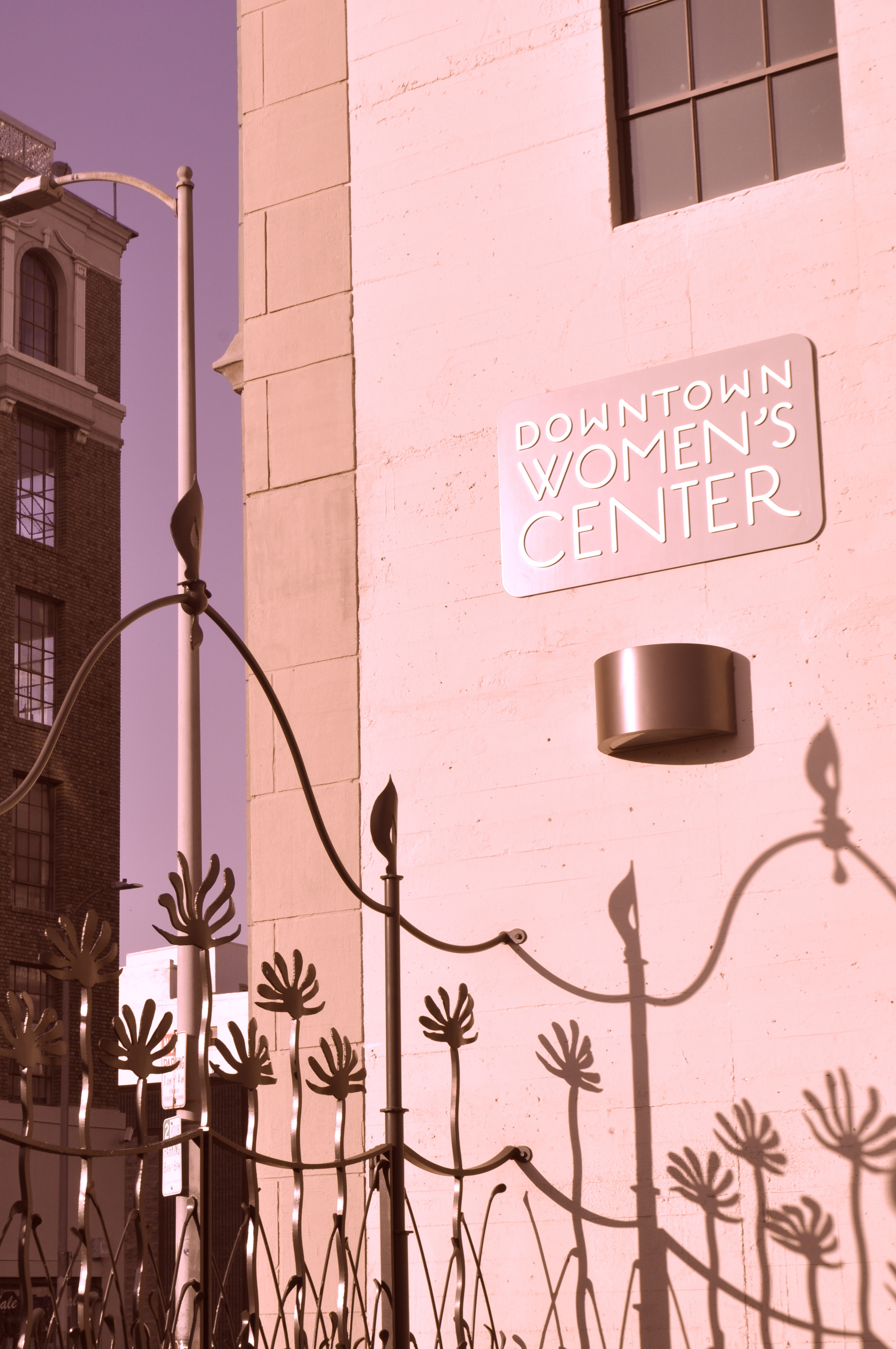 The Downtown Women's Center serves the growing population of women and children on Skid Row