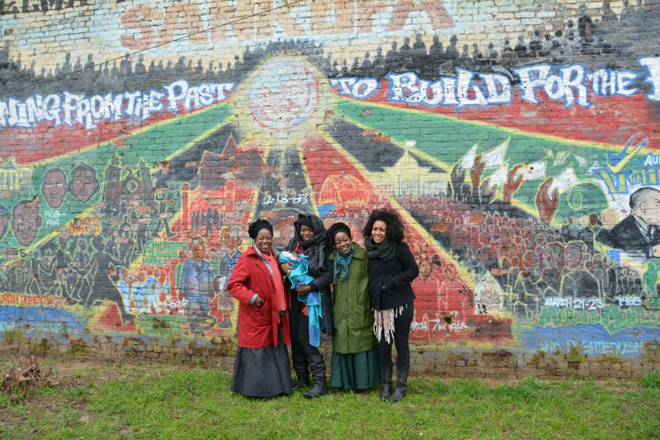 Jova (far right) with beloved family in Selma