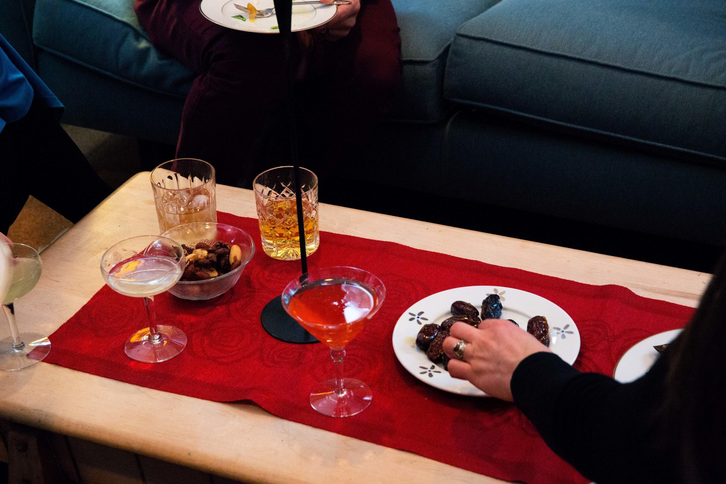 grabbing sauteed dates.jpg