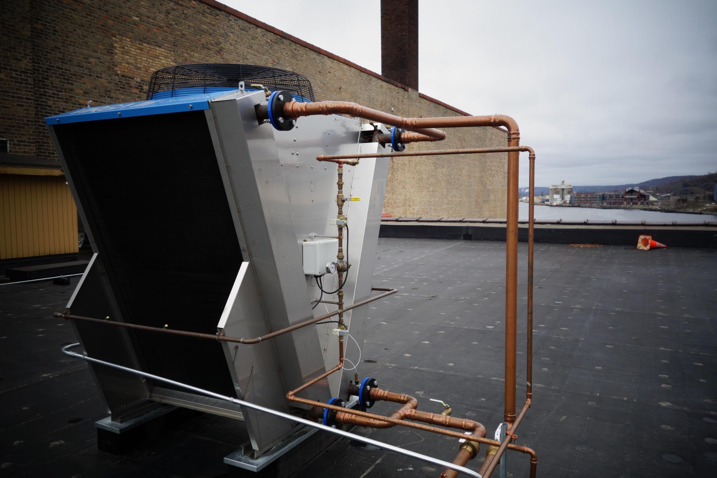 roof top cooler unit