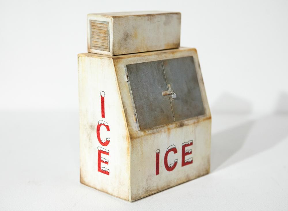 Rusty Ice Box - SOLD
