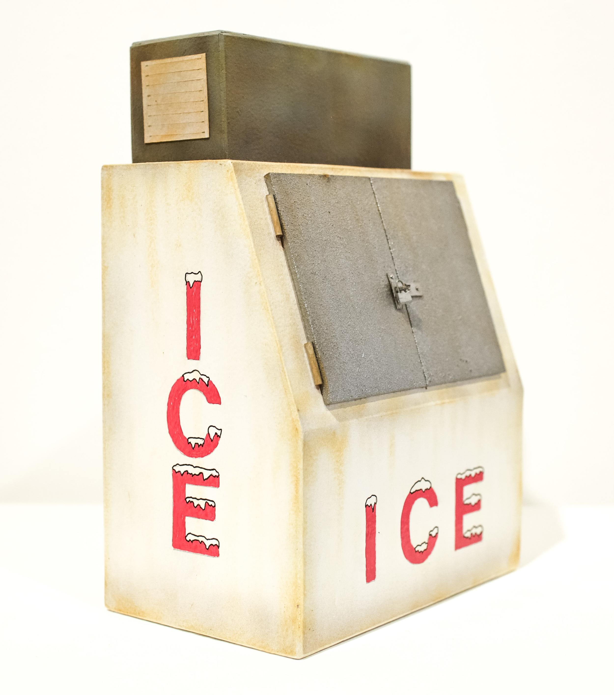 Rusty Ice Box #2 - SOLD