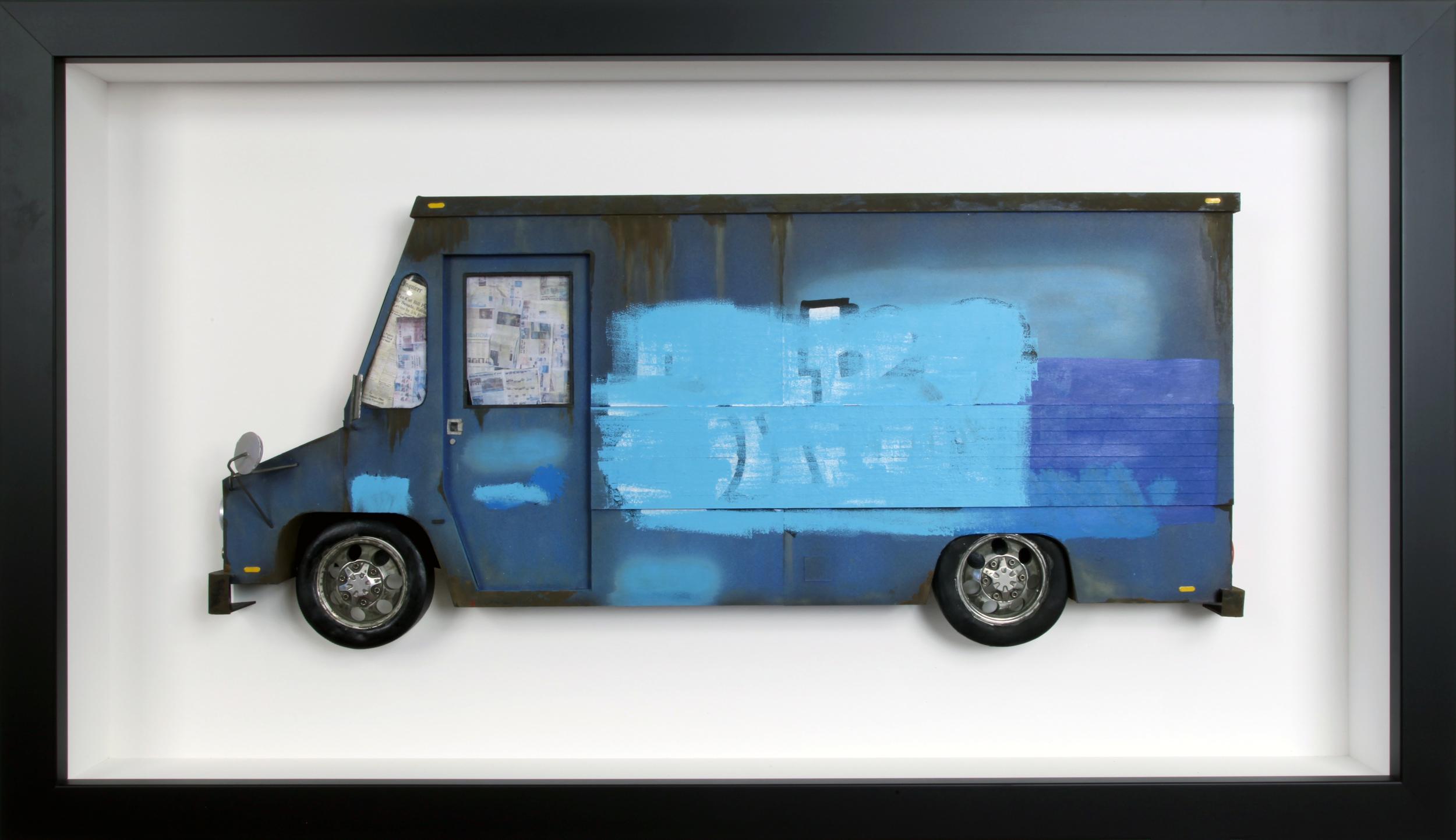 """Blue Buff LLV - 16"""" x 27 1/2"""""""