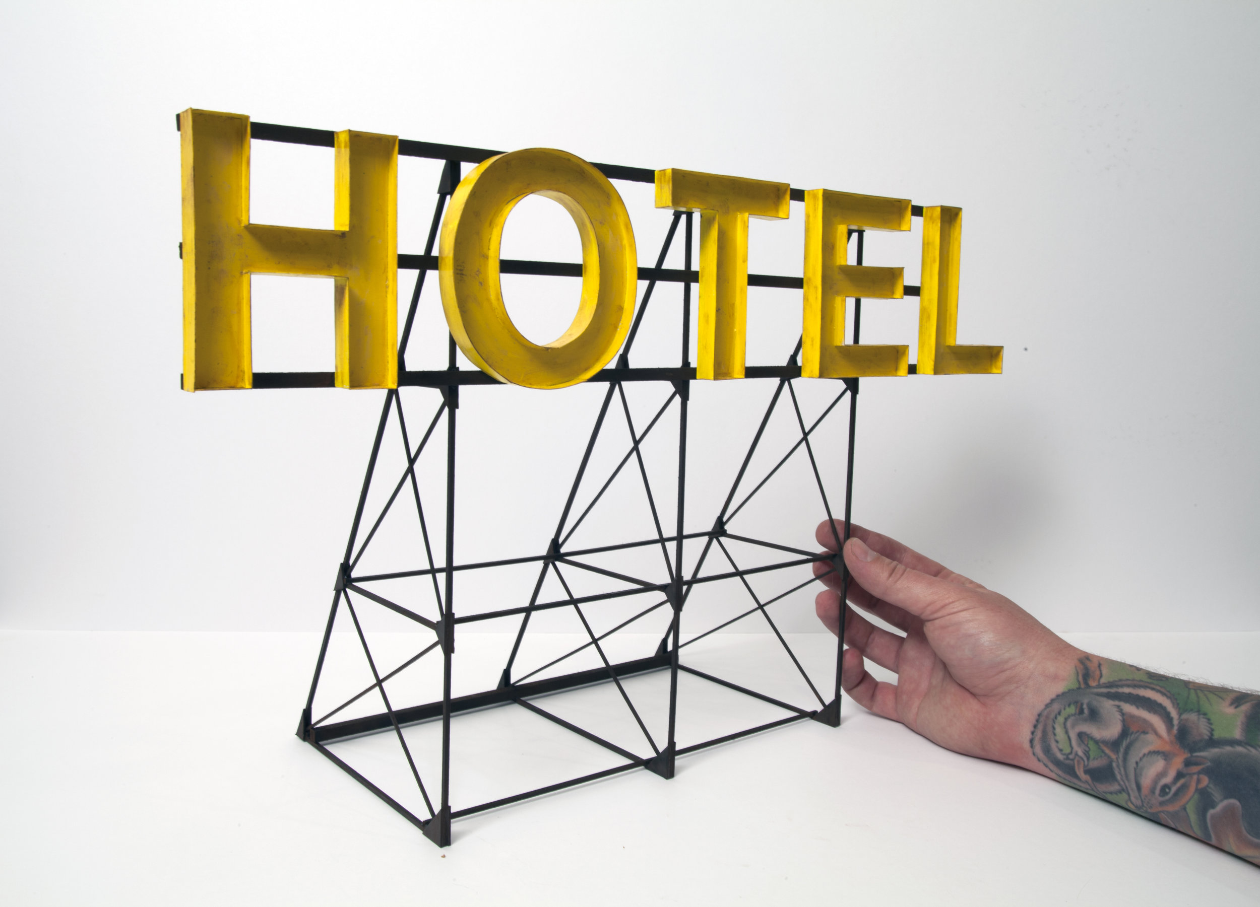 Hotel (Yellow) - SOLD