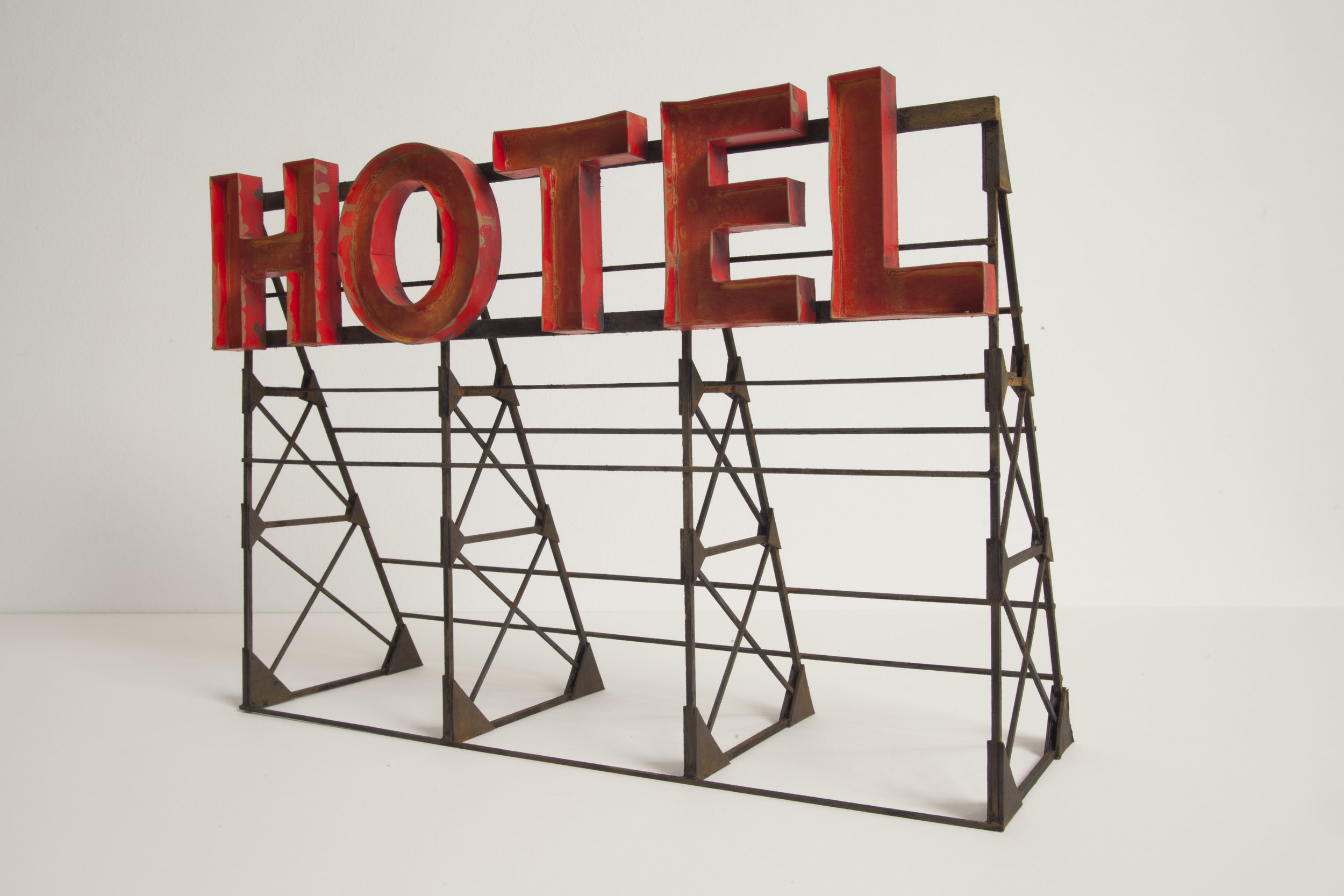 Hotel (Red) - SOLD