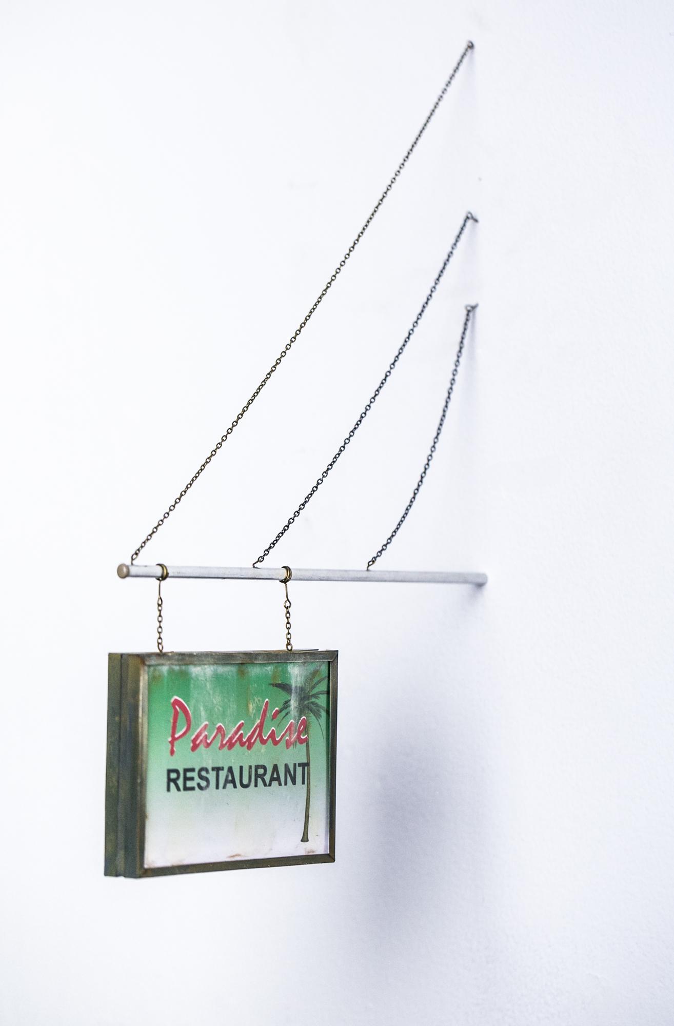Paradise Restaurant Sign - SOLD