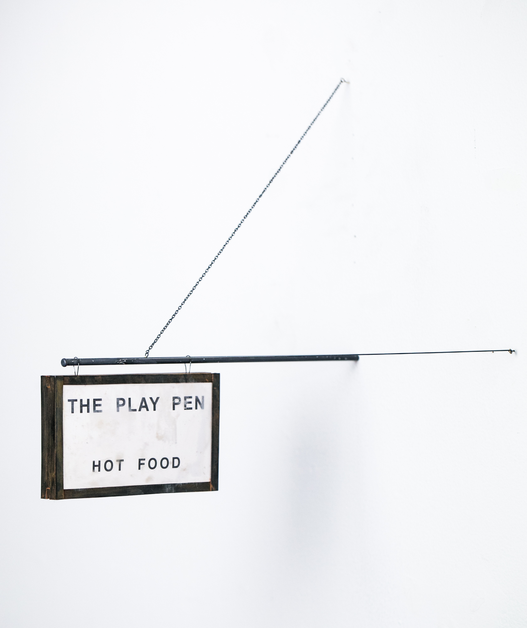 The Play Pen Sign - SOLD