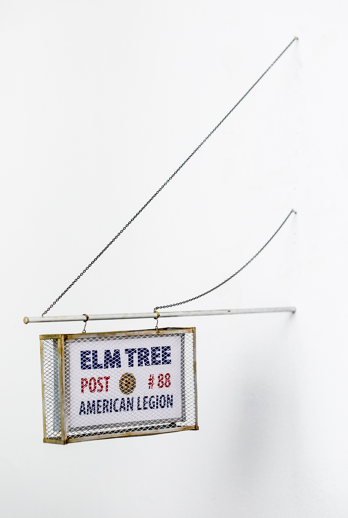 Elm Tree Post Sign - SOLD