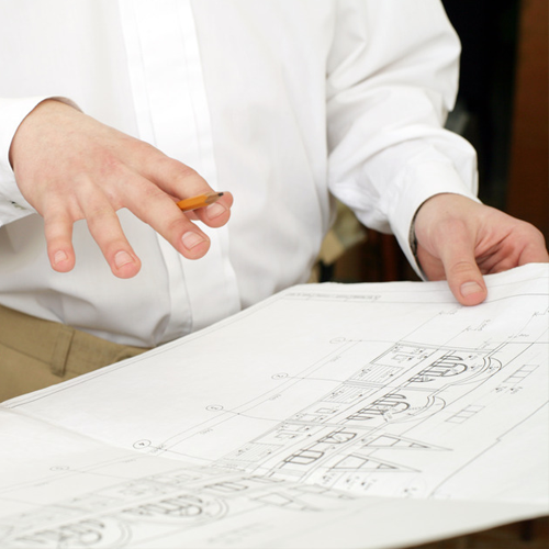 CONSULTATION   You will have a million questions when you start a new building project … and just as many options from which to choose. Benefit from our experience in finding the perfect architects and draftsmen for your project, as well as operating on a budget while staying true to your vision.