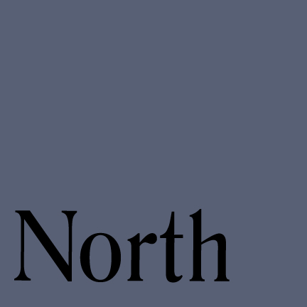 Image that says NORTH
