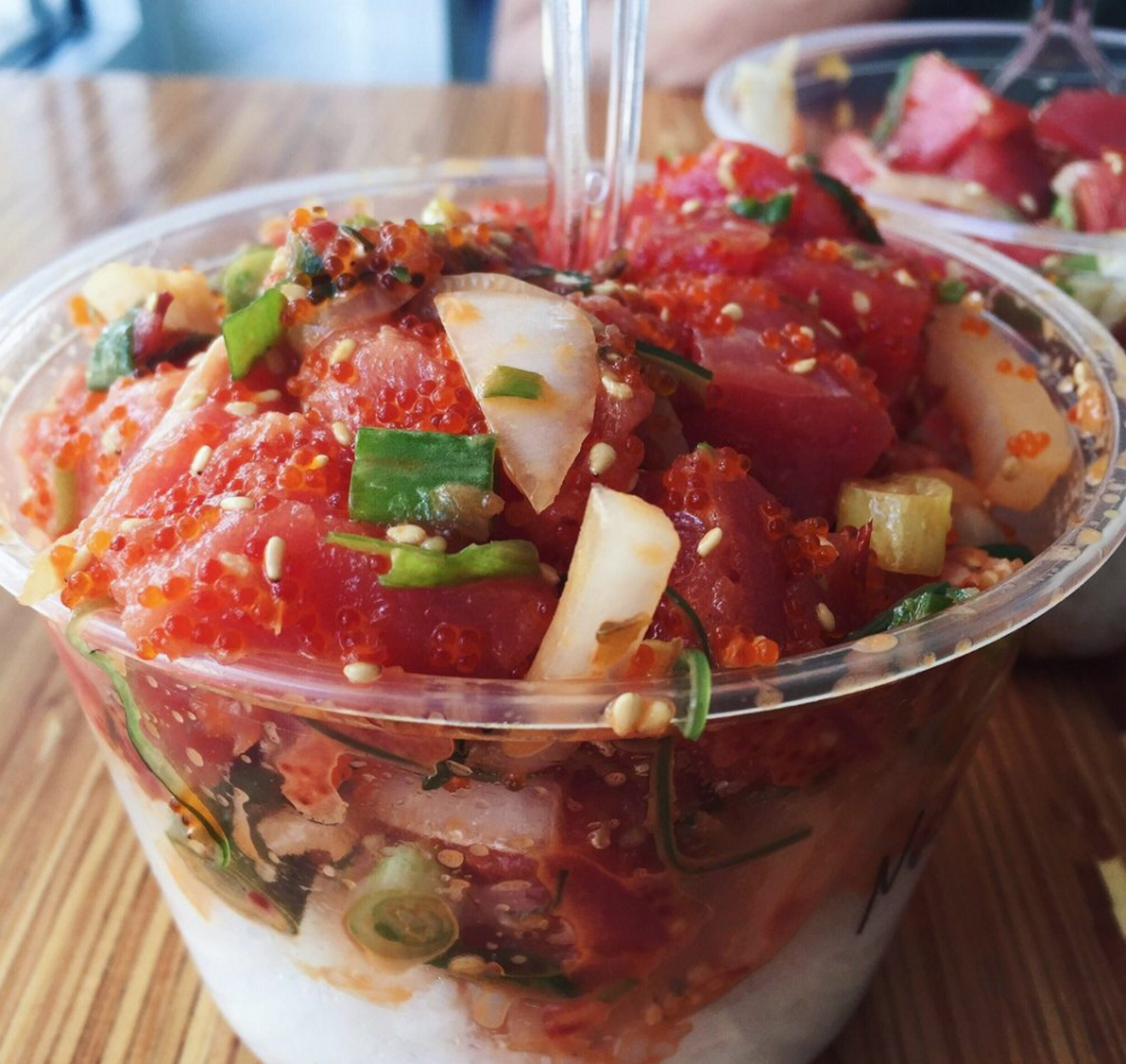 - It pays to be the original.. Foodnetwork names Poke-Poke one of the best in USA!