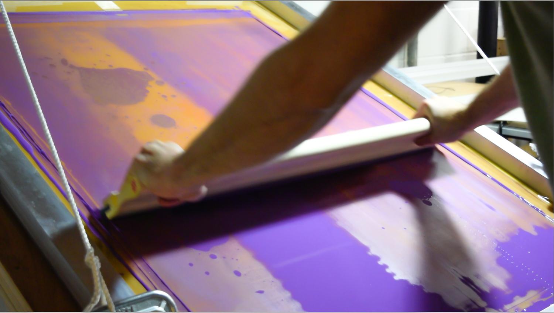 Copy of Printing purple