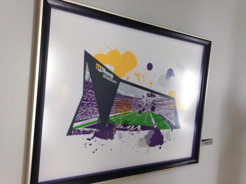 Copy of Screen printed piece - Purple Pride