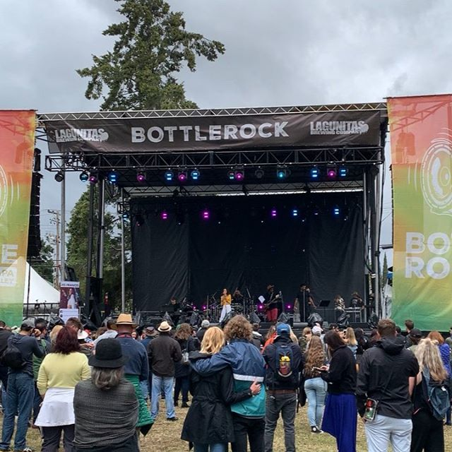 Caught a tiny little clip of the @jes_frances set I mixed at @bottlerocknapa. Kinda hard to get a good shot from my unfortunate mix position as you can see in the next photo. @geoffreygeoffrey @christianpepin @funk__father @andrew_mckenzie @pearcemerritt @ryanandbeyond y'all killed it on stage! Great day all in all.