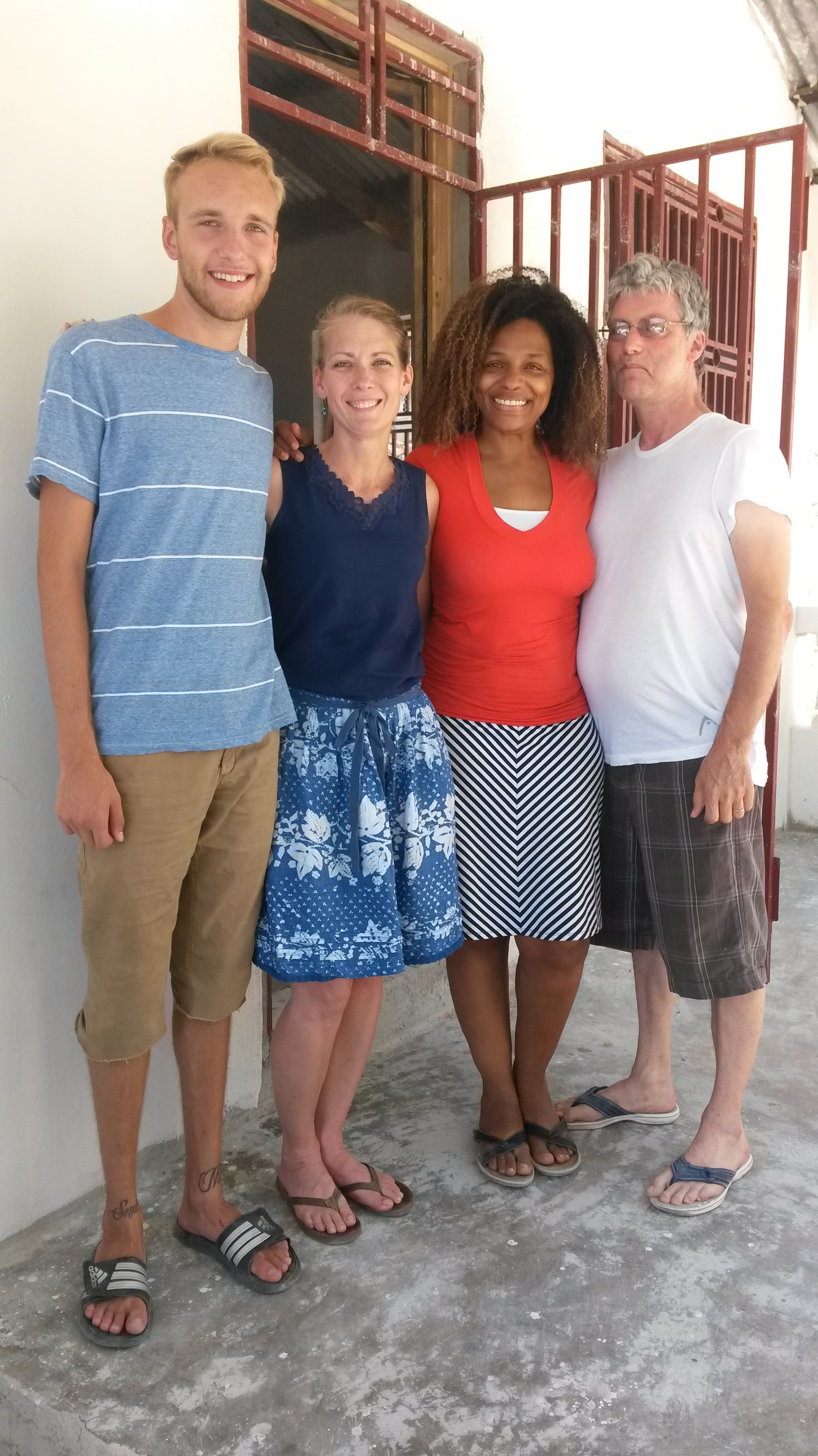 In June of 2014 Tyler and I got the opportunity to visit Gloria and her husband at their home in Haiti. What a blessing that was! Gloria has helped me in so many ways in understanding and loving Haiti better.
