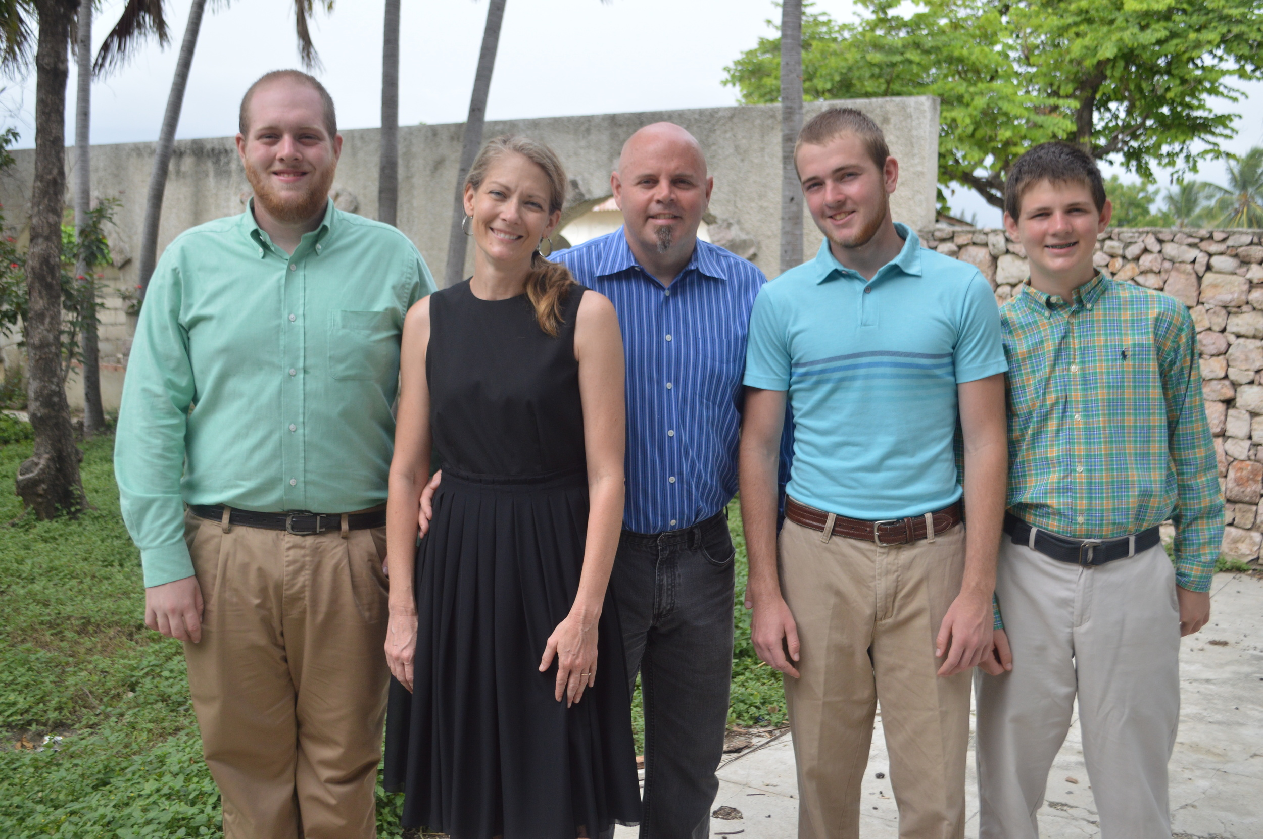 It's been a year since we were all in Haiti at the same time. I treasured the days we passed together!