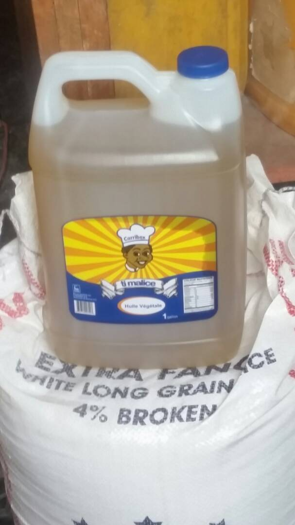 Gallon of oil - $25