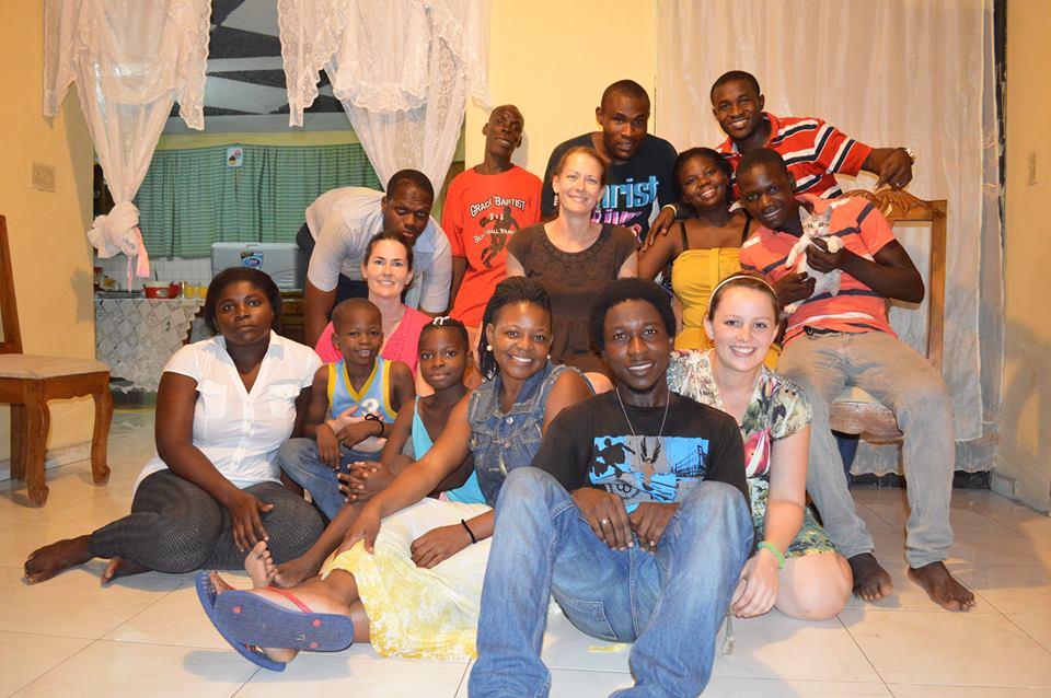 1st Haiti Awake team - October 2014