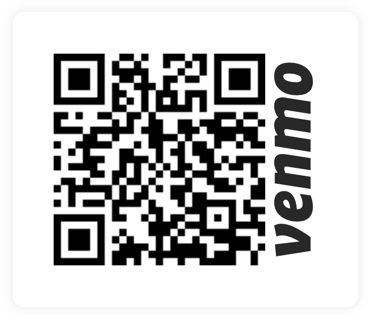 Venmo is our preferred method of transaction. @HaitiAwake -