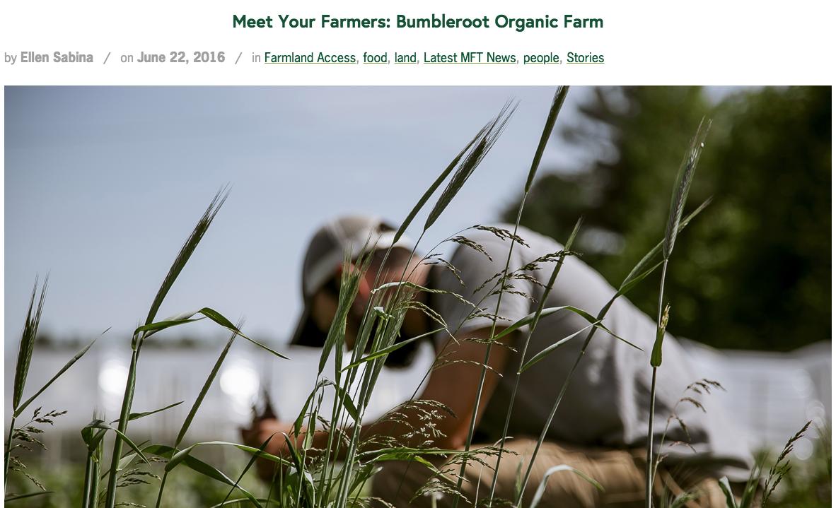 Maine Farmland Trust 2016