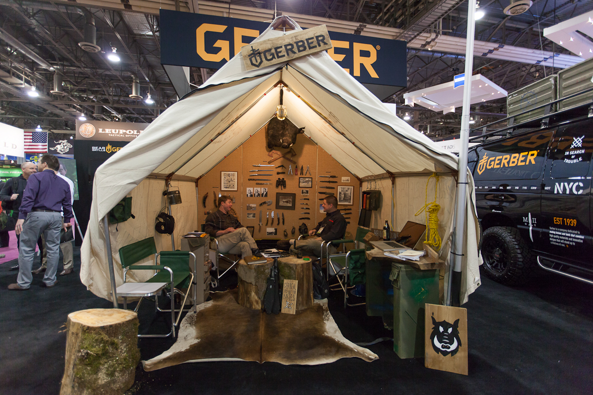 Shot Show: Booth Design