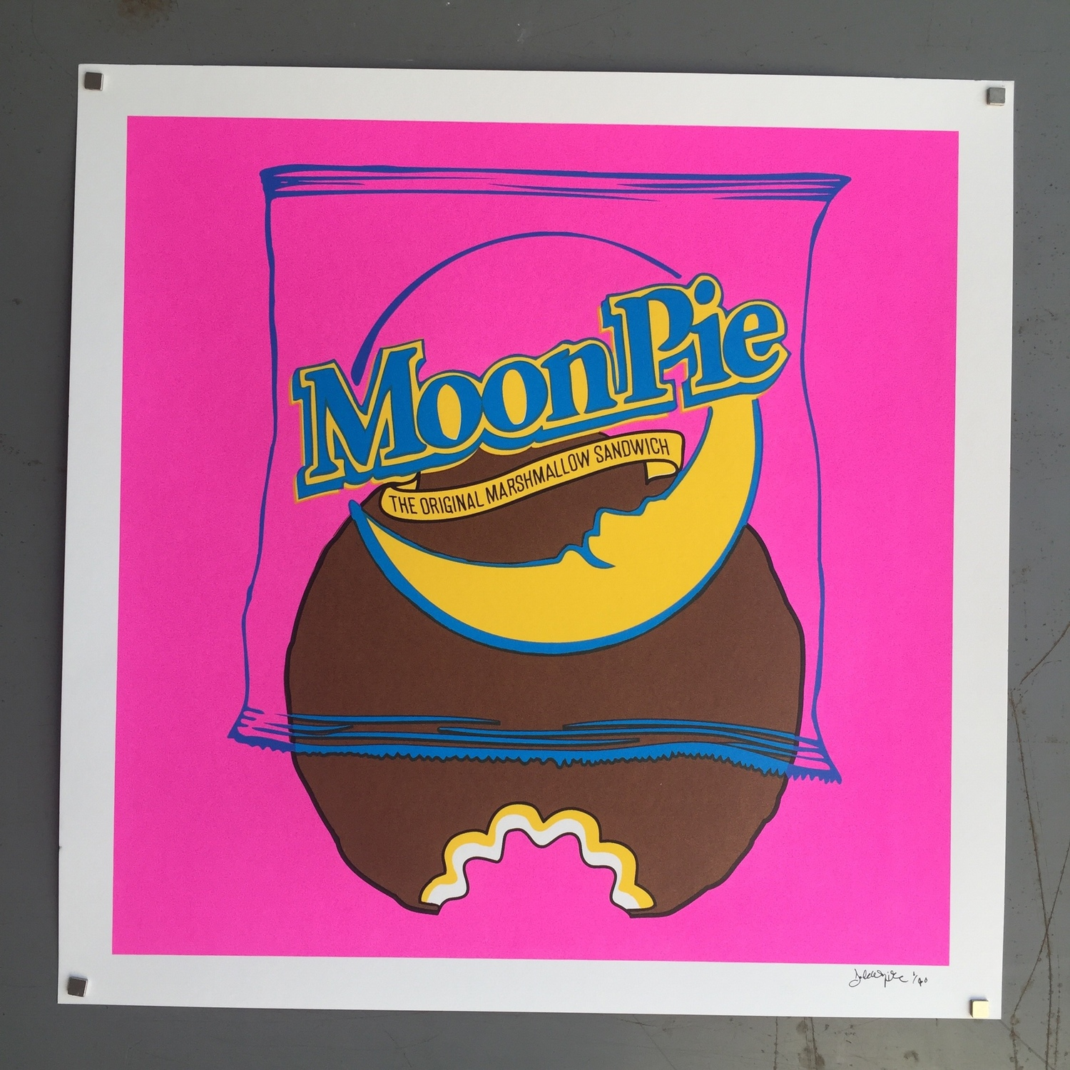 """""""Moon Pie"""" by Lucky Hand Press"""