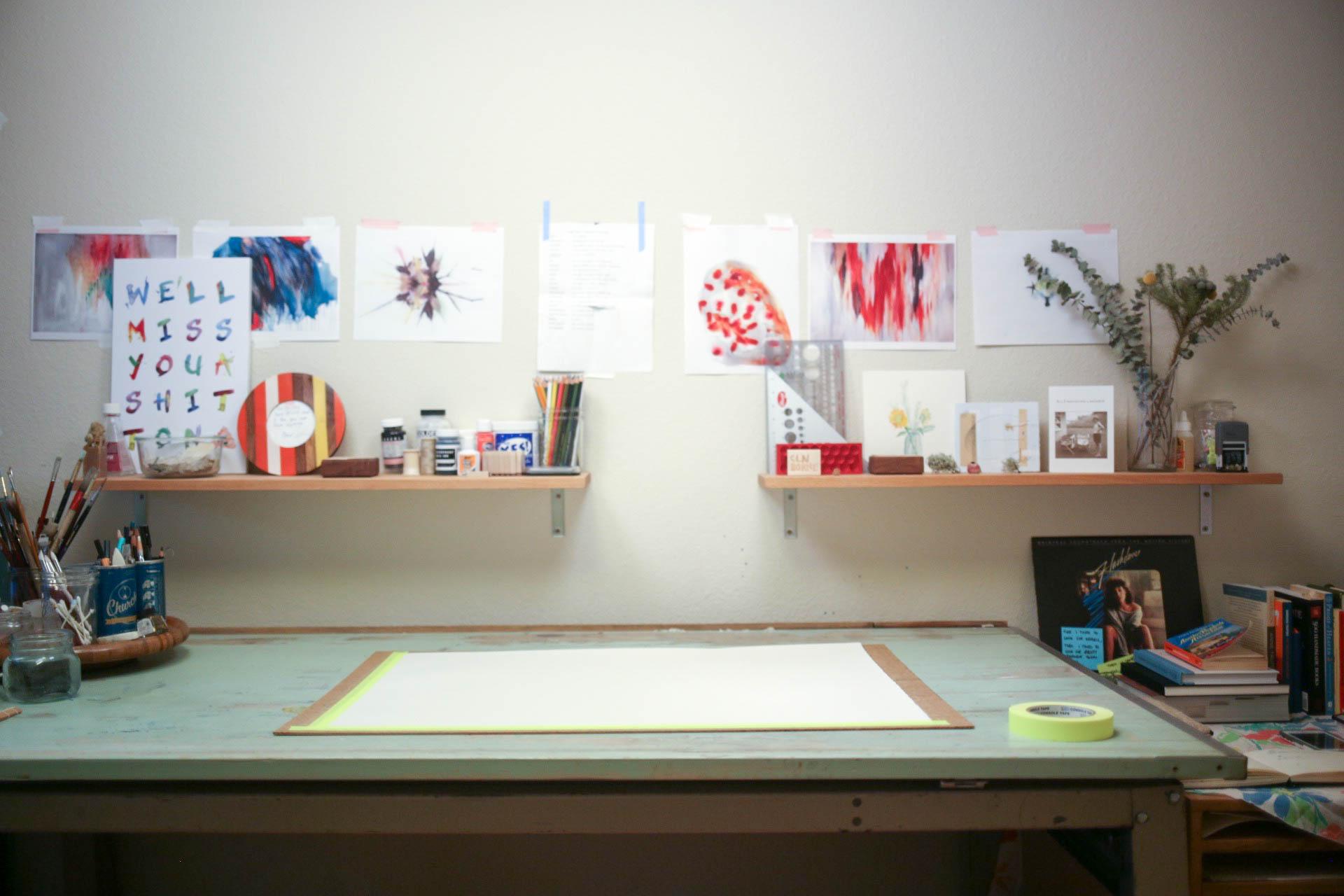 Blank slate, Studio Shot 2016
