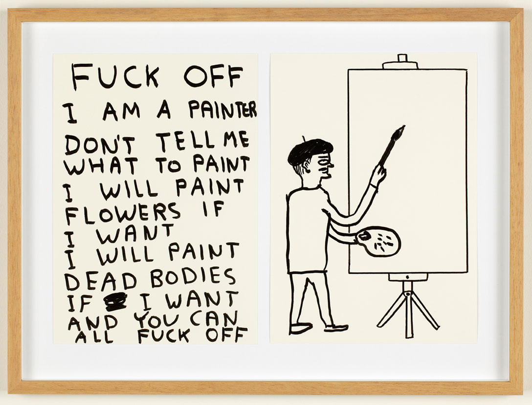 David Shrigley , hilarious print