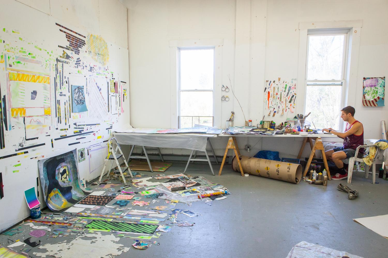 Painting Studio, Vermont Studio Center