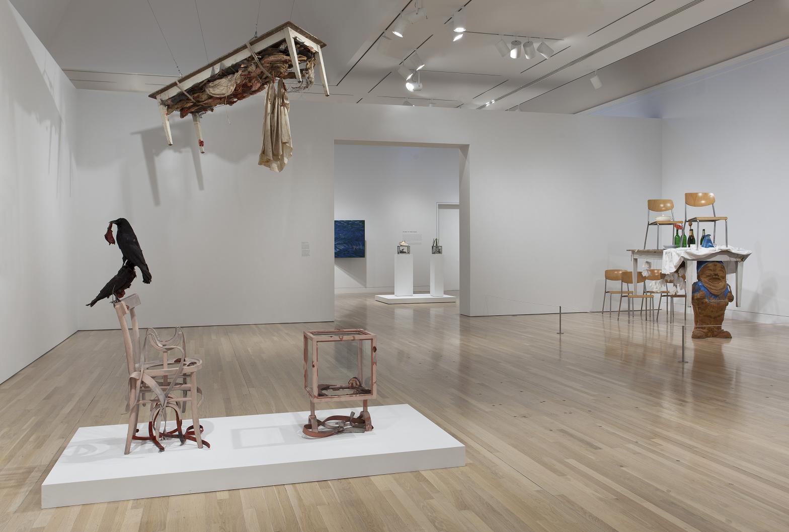 "Paul Thek - ""Diver"" - UCLA Hammer Museum"