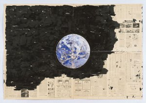 Paul Thek, Untitled (Earth Drawing I) ca. 1974. Estate of George Paul Thek Courtesy Alexander and Bonin, New York.