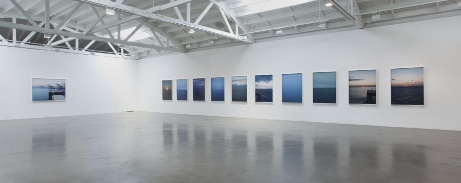 "Installation view of ""Twelve Miles to the Horizon"""