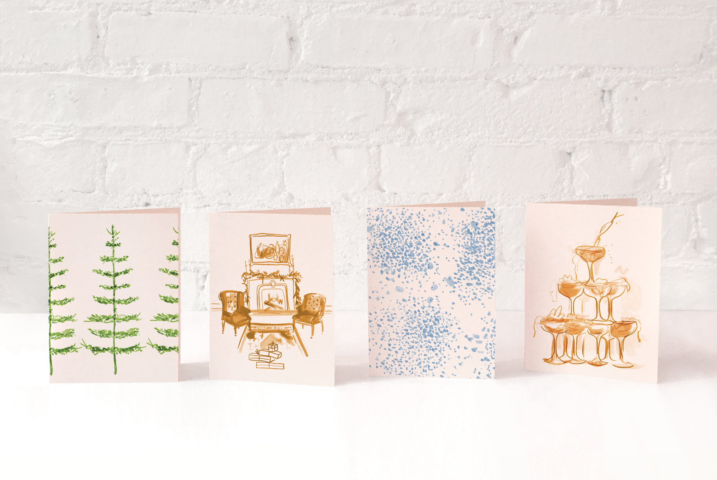 Presenting the  Studio Holiday Card Collection , beautifully printed by Conveyor Arts. Shipping November 15th!  Visit the SHOP.