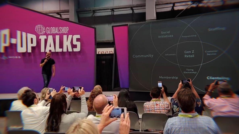 Speaking at GlobalShop 2019, Chicago