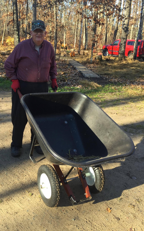 Ricky Heaton: have wheelbarrow, will travel