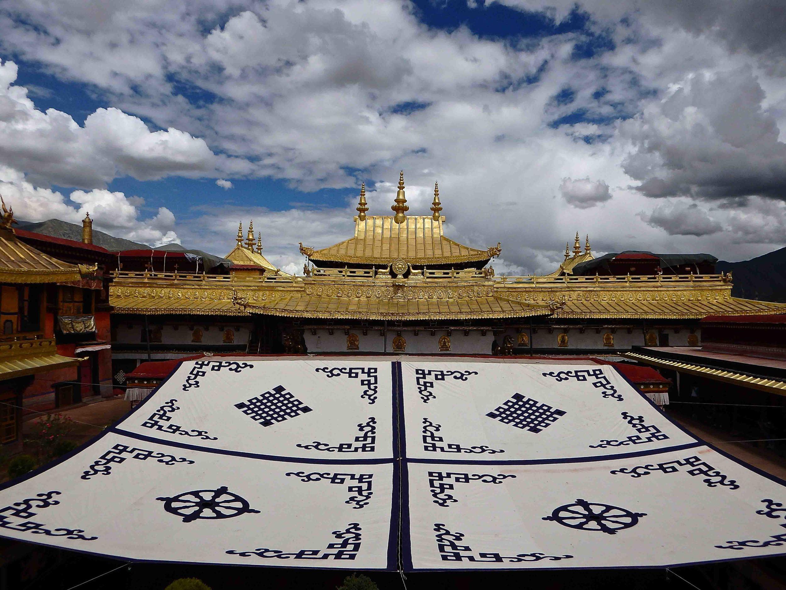 Jokhang Tempel in Lhasa, Tibet