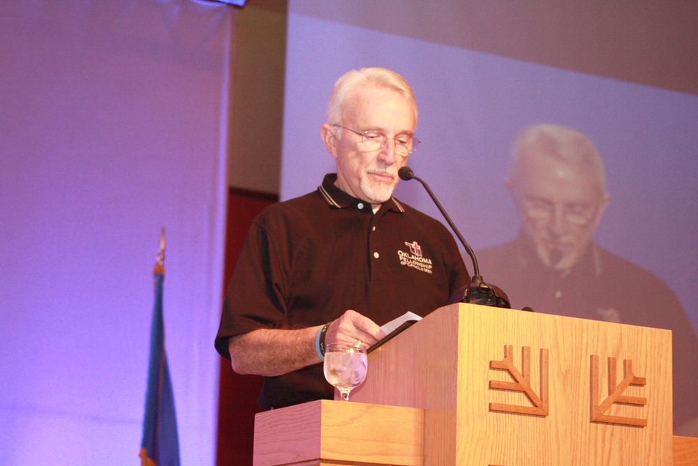 Deacon Roy Forsythe, Co-Founder  Oklahoma Fellowship of Catholic Men