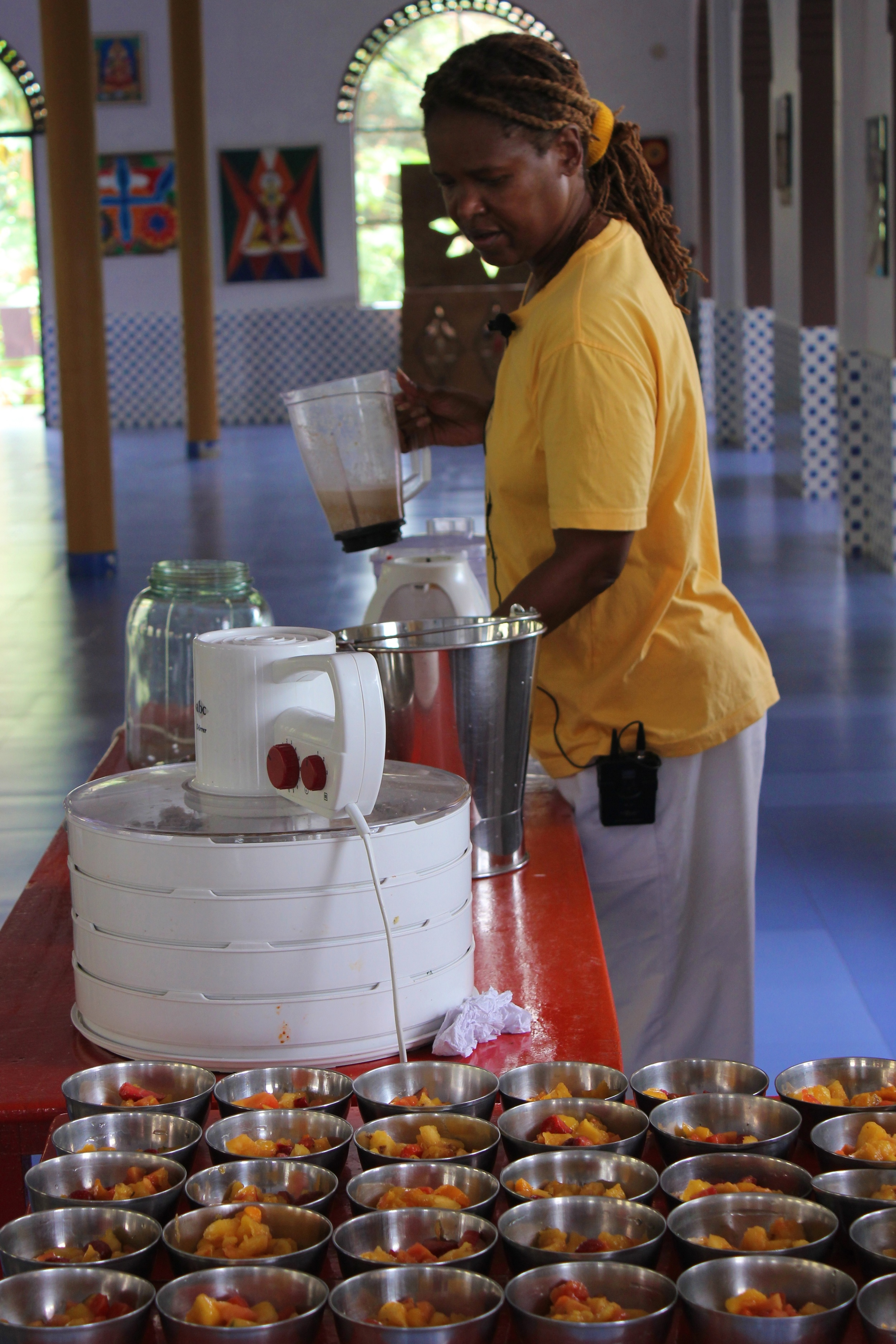 Proper diet-food prep demo with lakita and murali - kerela, india