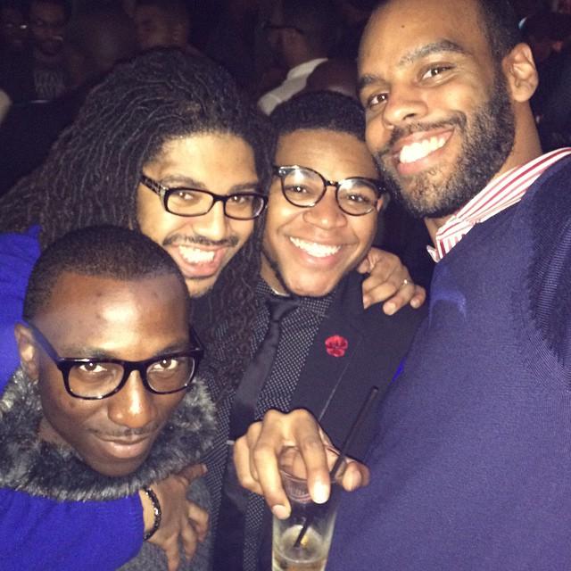 Me, Blair, Devin & Brandon!